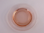 Heisey Glass Pink Pleat And Panel Bread Butter Plate