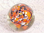 Vintage Murano Multi Colored Glass Paperweight