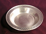 Vintage Poole Pewter Candy Low Bowl 2196