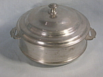 Vintage Woodbury Pewter Casserole Covered Dish Henry Ford Museum