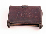1904 Us United States Military Leather Cartridge Case