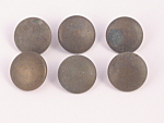 Four World War I Prussian Brass Uniform Buttons