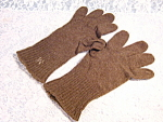 World War Ii Military Army Green Wool Gloves