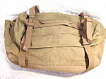 Us Military Canvas Field Pack Or Bag Foster Company 1950