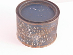 Can Original World War Ii Lubricating Graphite Grease