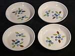 Set Of Four Holt Howard Blueberry Coasters Or Nut Dishes