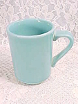 Vintage Turquoise Homer Laughlin Coffee Or Cocoa Mug
