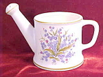 Lefton China Blue Floral Water Pail