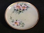 Vintage Nippon China Hand Painted Floral Plate