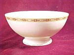 Royal Schwarzburg Pink Rose Small Serving Bowl