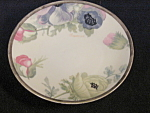 O&eg Royal Austria Hand Painted Floral Plate