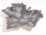 Lovely Van Briggle Leaf Shaped Dish