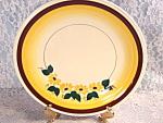 Vintage Vernonware Vernon Kilns Brown Eyed Susan Large Chop Plate