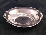 Vintage England Silverplate Oval Serving Dish