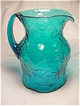 Crinkle Ockner Pitcher - Peacock Blue