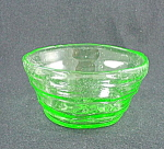Consolidated Catalonian Finger Bowl - Emerald