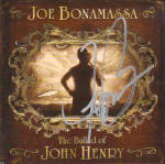 Joe Bonamassa Autographed Signed Cd Cover Uacc Rd Coa