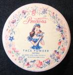 Vintage 1940s Precious Face Powder Sealed