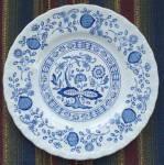 B&b Plate Blue Heritage, Wedgewood Enoch