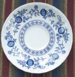 Saucer, Enoch Wedgewood, Blue Heritage