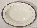 John Aynsley Sons Twilight Oval Vegetable Serving Bowl