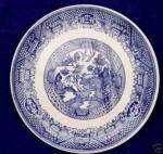 Vintage Blue Willow Plate Or Large Saucer Underplate