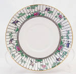 Booths Springtime Bluebirds Cream Soup Saucer Only