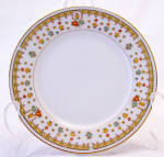 Fine China Japan Garden Bouquet 4078 Bread Plate 's