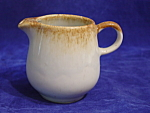 Mccoy Pottery Lite Brown Drip Creamer