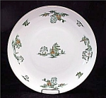 Narumi Mikasa Green Willow Round Platter Chop Plate