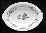 Narumi Mikasa Green Willow Oval Vegetable Serving Bowl