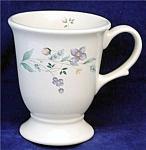 Pfaltzgraff April Huge Pedestal Footed Latte Mugs