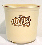 Pfaltzgraff Village Coffee Cannister No Lid 508