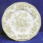 Premiere Green Asiatic Pheasants Dinner Plate's