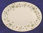 Royal Doulton Strawberry Cream Oval Serving Platter