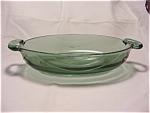 Fostoria Horizon Spruce Green Console Bowl