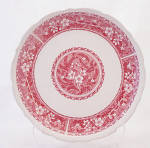 Syracuse China Pink Strawberry Hill Side Salad Plate