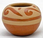 Jemez Pueblo Indian Pottery Pot By C Laretto