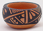 Jemez Pueblo Indian Pottery Pot By Frances Lola Waquiu