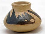 Vintage Pueblo Indian Pottery Pot By Theodora Ortiz