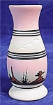 Navajo Pottery Vase Indian Pottery Pink With Etching