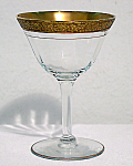 Franciscan Tiffin Gold Band Westchester Sherbet Glass