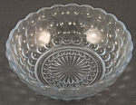 Anchor-hocking Blue Bubble Ceral Bowl