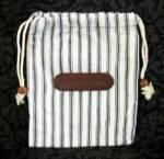Delta Cloth Draw String Bag