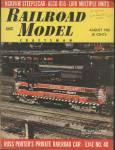 Railroad Model Craftsman, August 1965