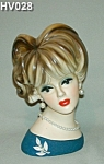 """8 1/2"""" Young Lady Head Vase"""