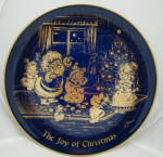 Lindner Christmas Plate 1976 The Joy Of Christmas