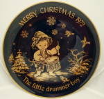 Lindner Christmas Plate 1972 The Little Drummer Boy