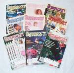 Vintage 1988 Workbasket Magazine Lot