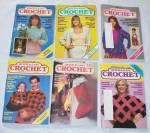 Vintage Quick And Easy Crochet Magazine Lot